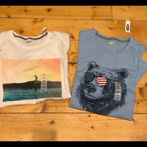 Old Navy men's graphic t shirts XXL NEW